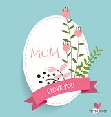 foto of floral bouquet  - Happy Mother - JPG