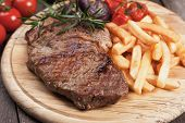 pic of french fries  - Beef rib - JPG