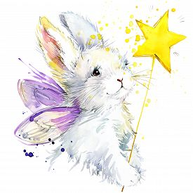 image of fairies  - Bunny fairy T - JPG