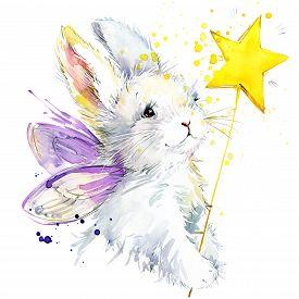 image of fairy  - Bunny fairy T - JPG