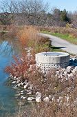 Stormwater Management System Perforated Concrete Pipe poster