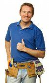 Confident Handyman Portrait