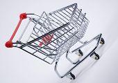 Shopping Cart Tilted
