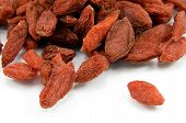 Red dried tibetan goji berries