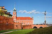 Royal Castle And Sigismund's Column