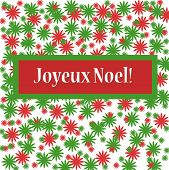 Joyeux Noel Christmas Sign