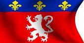 Flag Of Lyonnais, France