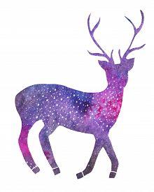 picture of deer  - Galaxy deer - JPG