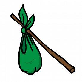image of hobo  - hobo sack - JPG