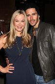 LOS ANGELES - MAY 17:  Jennifer Gareis,Brandon Beemer at the Bold & Beautiful Celebration of their E