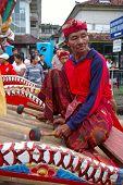 Balinese Gamelan Player