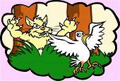Gato Caza aves