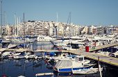 pic of piraeus  - Boats in Piraeus Marina in Athens Greece - JPG