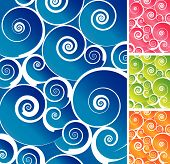 Colorful Spiral Background
