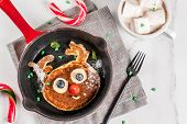 Funny Pancakes For Christmas poster
