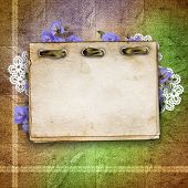 ?ard For Greeting Or Invitation On The Vintage Background.