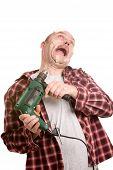 Dangerous Drill Machine