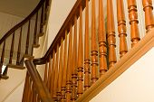 1880S Banister And Spindles