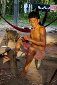 Craftsman near Angkor Wat