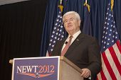 Presidential Candidate Newt Gingrich