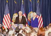 Newt and Calista Gingrich.