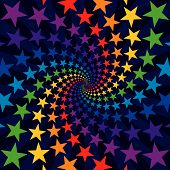 Star Swirl Burst