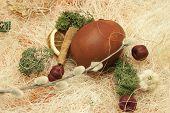 Happy Easter Scene
