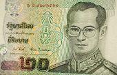Thailand King banknote