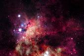 Cosmic Landscape, Awesome Science Fiction Wallpaper. Elements Of This Image Furnished By Nasa poster