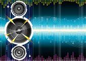 Audio Speaker Wave