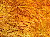 Golden Wall Paper Background Pattern. Golden Light Paper Wall Texture, Gold Abstract Geometric Backg poster