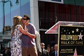 LOS ANGELES - FEB 22:  Jennifer Aniston; Adam Sandler at the Jennifer Aniston Hollywood Walk of Fame Star Ceremony at the W Hollywood on February 22, 2012 in Los Angeles, CA.