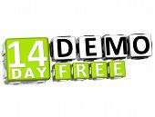 3D Get 14 Day Demo Free Block Letters