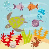 Underwater Life.eps