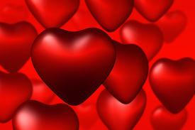 stock photo of valentine heart  - valentine hearts - JPG