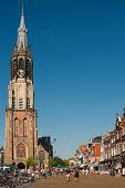 New Church On The Delft Market Square