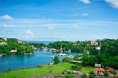 Beautiful View Of Saint Lucia, Caribbean Islands