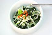 KoreanRadish with Seaweeds chopstick