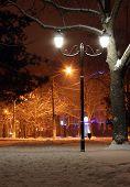 Street Lantern In Park