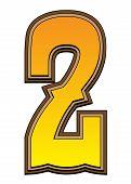 Western Alphabet Number  - 2
