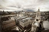 London-Blick von St. Paul Kathedrale