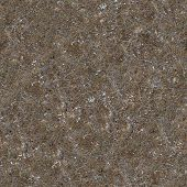 Seamless Texture of Soil Post-apocalyptic Period.