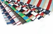 Colorful Cross-striped T-shirts
