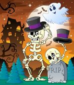 Halloween character image 8 - eps10 vector illustration.