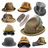 Collection Of Oktoberfest And Hunting Hats