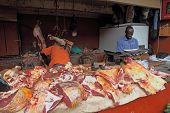 African Butcher Shop