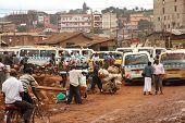 Side Street Life Of Kampala
