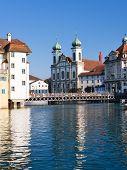 Cityscape Of Luzern