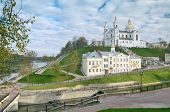 The Lord Transfiguration Cathedral  In Vitebsk Belarus