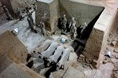foto of qin dynasty  - Picture of Qin Shi Huang tomb in Xi - JPG